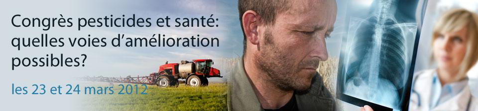 Congres Pesticides et Santé