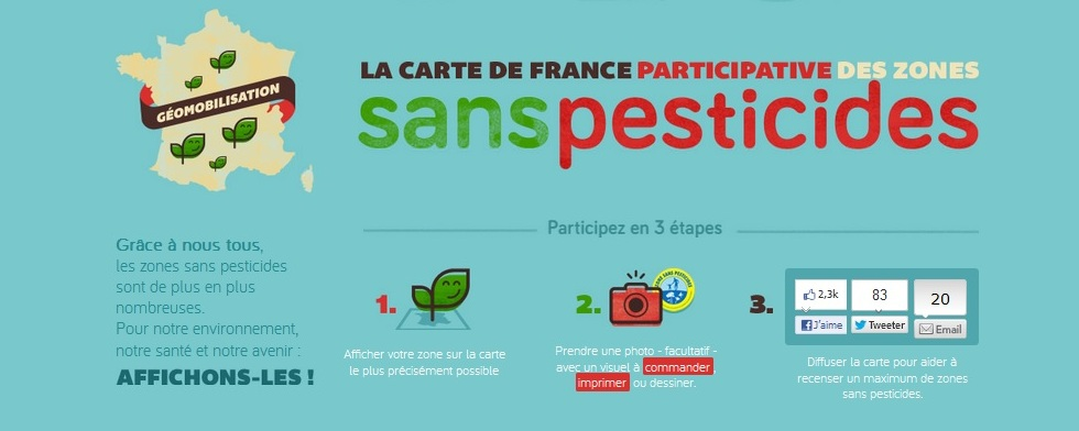 cartedefranceparticipativezonessanspesticides
