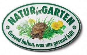 Natur im Garten Plakette